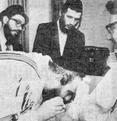 Under Jewish law, a mohel -- someone who performs circumcisions -- draws blood from the circumcision wound. Most mohels do it by hand, but Fischer uses a rare practice where he uses his mouth: why is it that your fellow tribesmans enjoys to practice fellatio on each other?